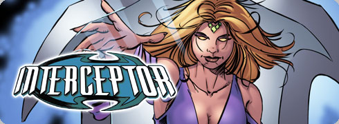 click to view the Unstoppable Comics interceptor : Genesis